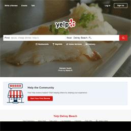 #7 is Yelp.com